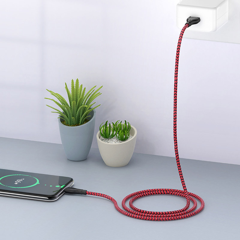 borofone bx39 beneficial charging data cable for usb c charge
