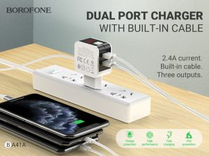 BOROFONE BA41A Power lake dual port charger