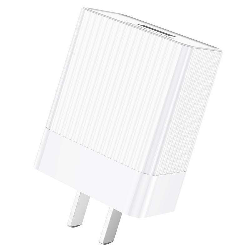 borofone ba47 mighty speed single port qc3 wall charger us