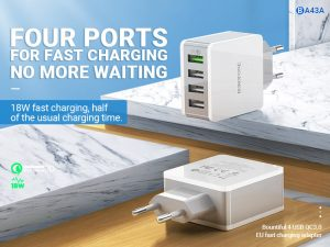 BOROFONE BA43A Bountiful wall charger