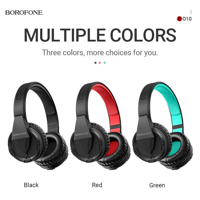 borofone news bo10 precious wireless headphones colors en