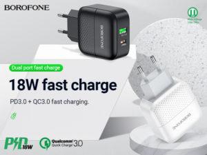 BOROFONE BA46A Premium wall charger