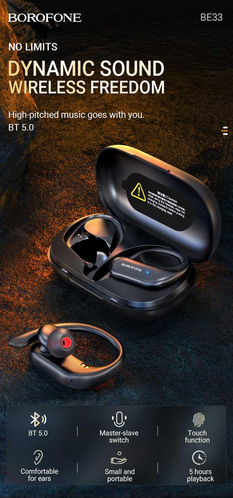 borofone news be33 rhyme tws wireless headset en