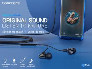 BOROFONE BM49 Player wired earphones