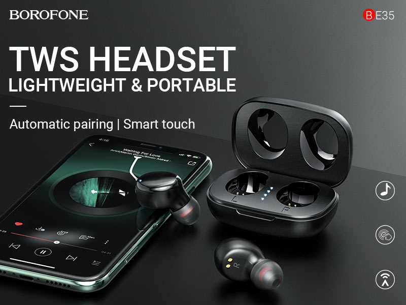 borofone news be35 agreeable voice tws headset banner en