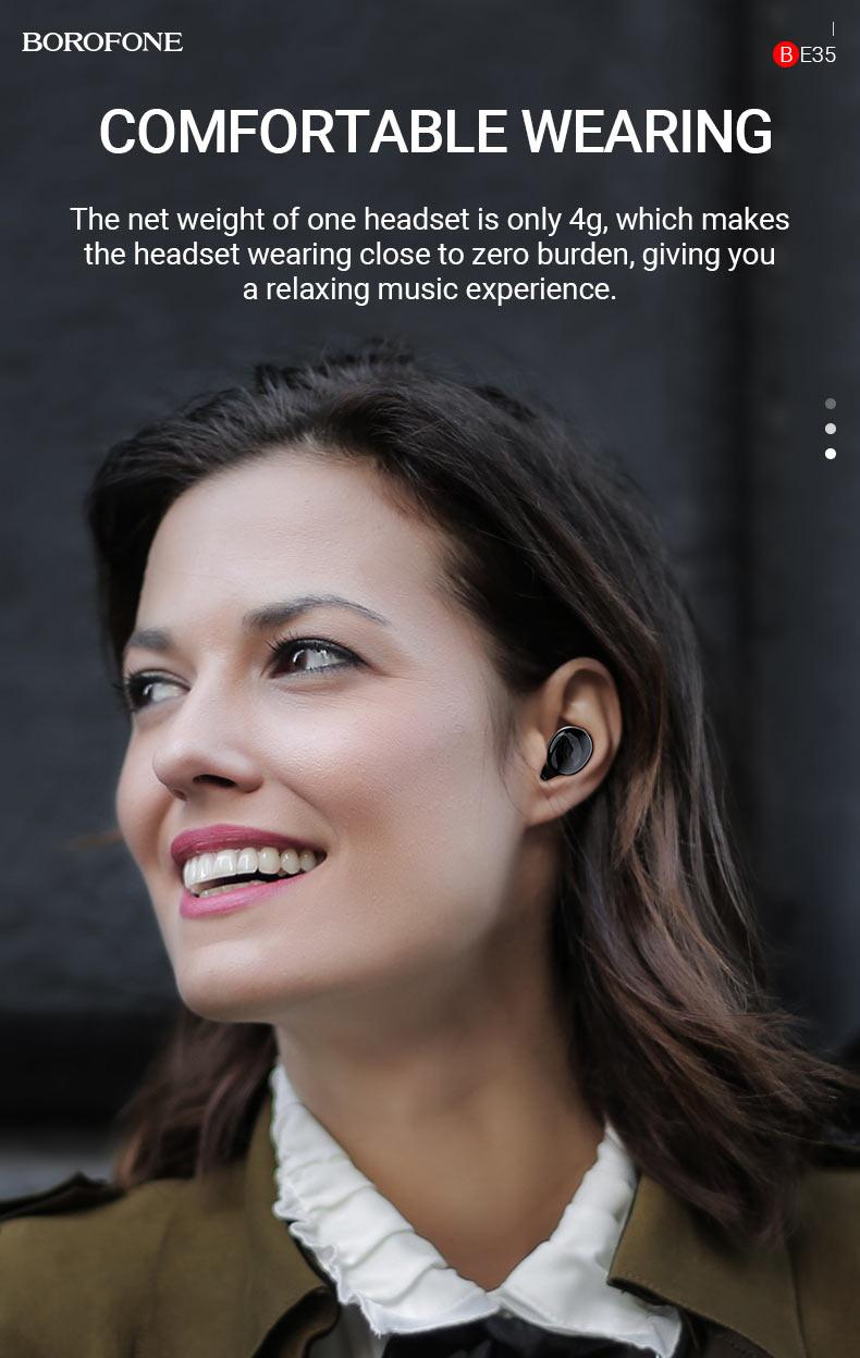 borofone news be35 agreeable voice tws headset comfortable en