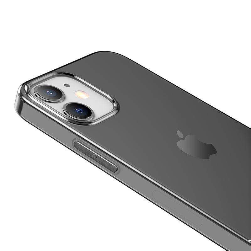 borofone ice series bi4 phone case for iphone 12 5.4 6.1 camera
