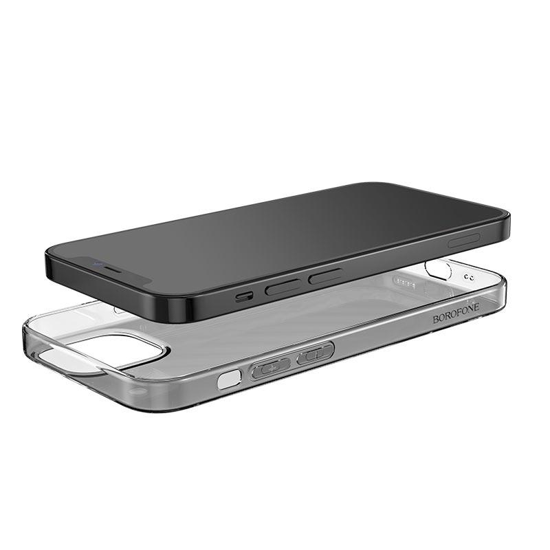 borofone ice series bi4 phone case for iphone 12 5.4 6.1 precise