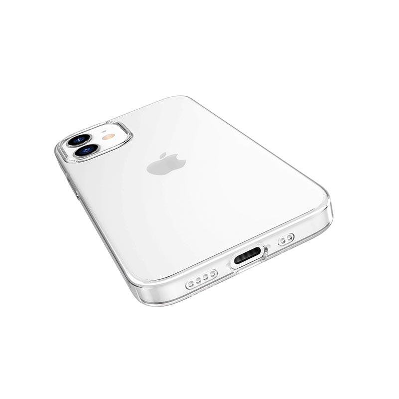 borofone ice series bi4 phone case for iphone 12 5.4 holes