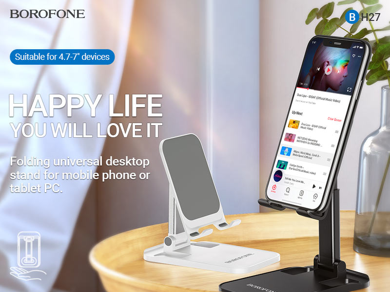 borofone news bh27 superior folding desktop stand banner en