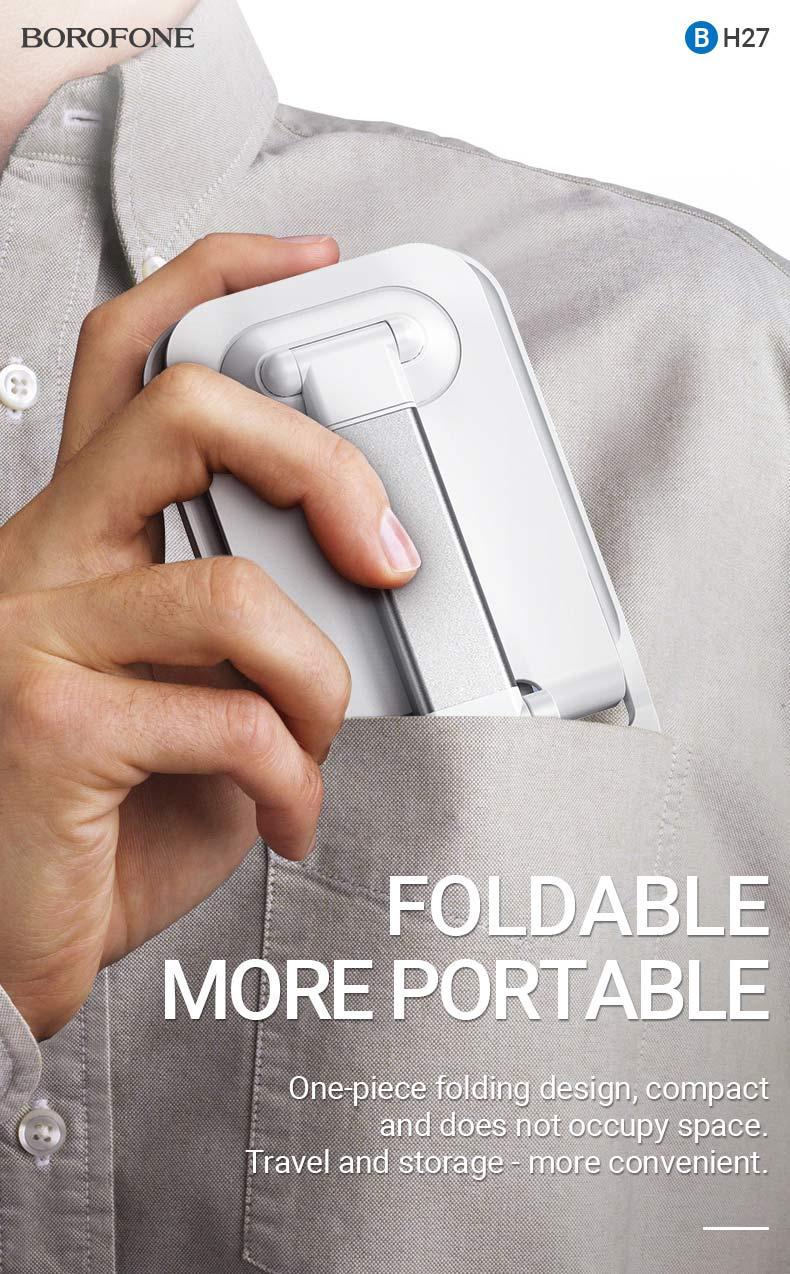 borofone news bh27 superior folding desktop stand portable en