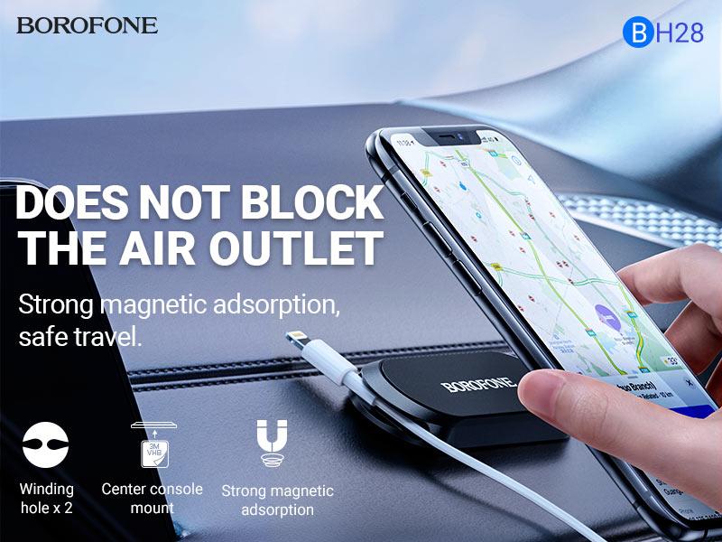 borofone news bh28 refined magnetic holder banner en