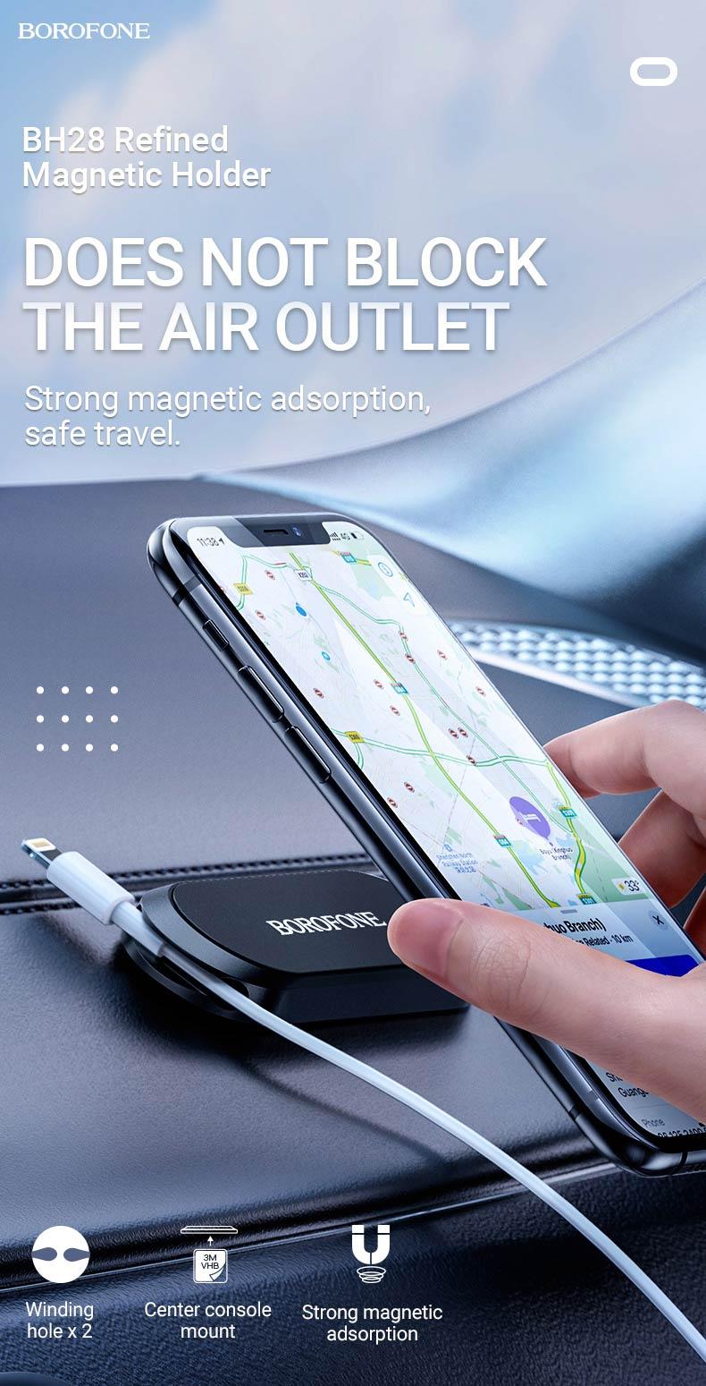 borofone news bh28 refined magnetic holder en