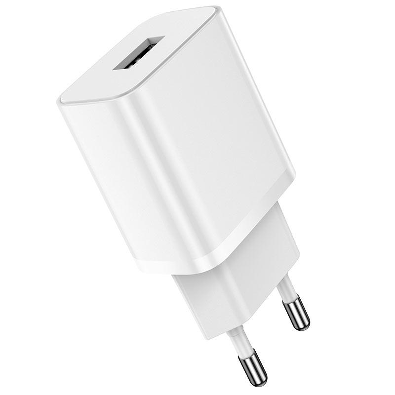 borofone ba52a gamble single port wall charger eu plug