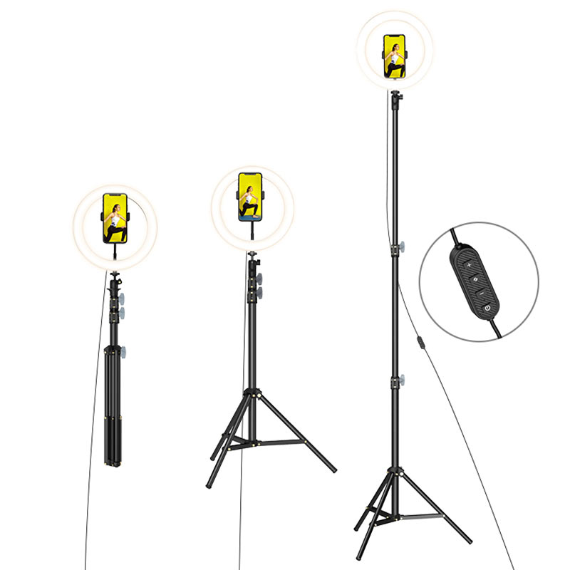 borofone bh30 soarer tripod fill light live broadcast holder remote