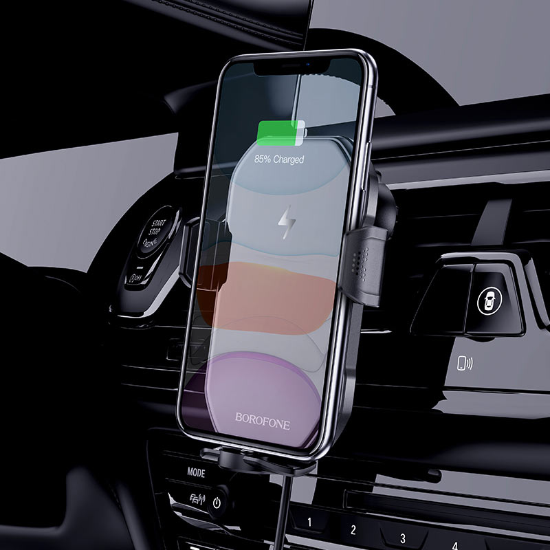 Wireless charger BH31 Sabio in-car holder