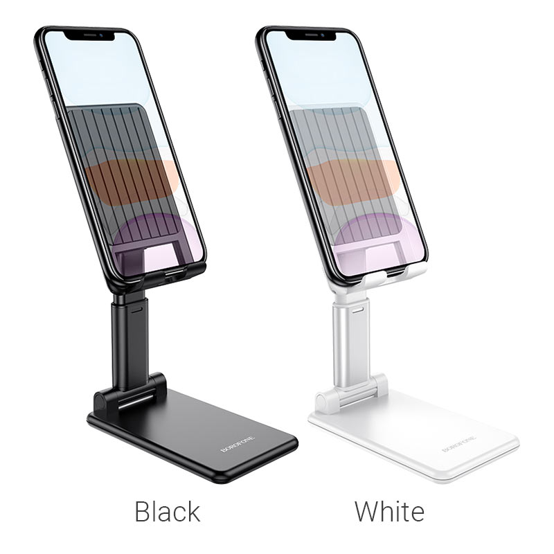 borofone bh33 praised mobile phone folding desktop stand colors
