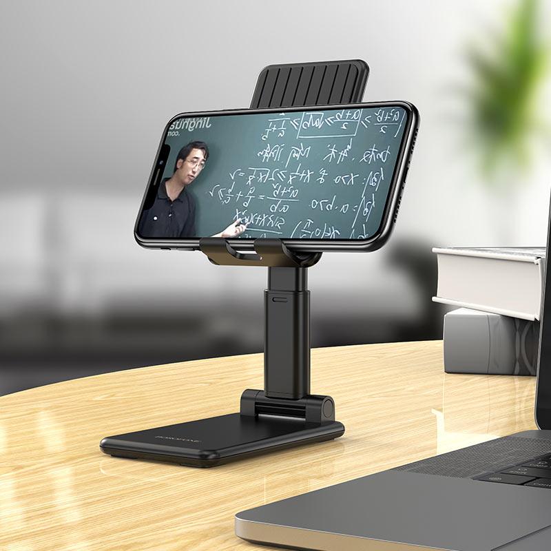 borofone bh33 praised mobile phone folding desktop stand horizontally