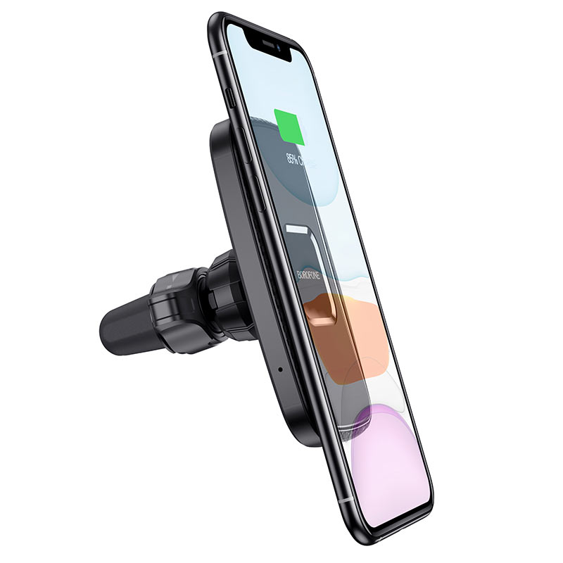 borofone bh35 magnetic wireless charging car holder phone