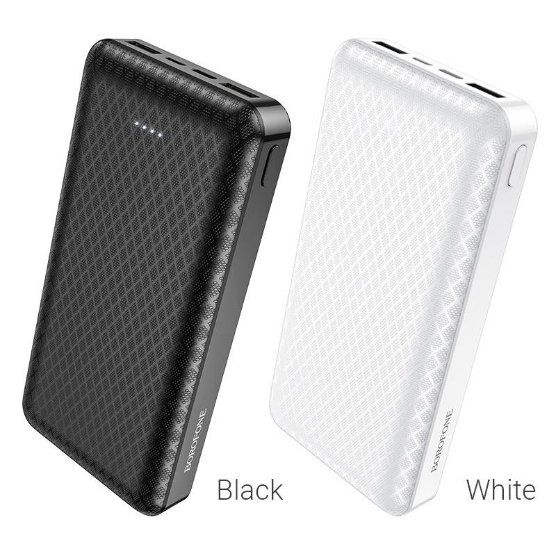 borofone bj3a minimalist портативный аккумулятор 20000mah цвета