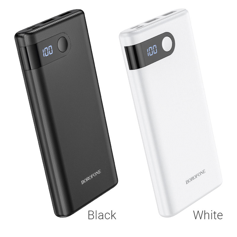borofone bt35 smart force digital display power bank 10000mah colors
