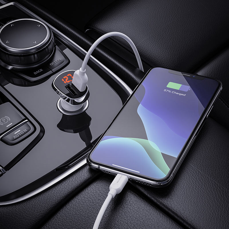 In-car charger BZ15 Auspicious set with cable