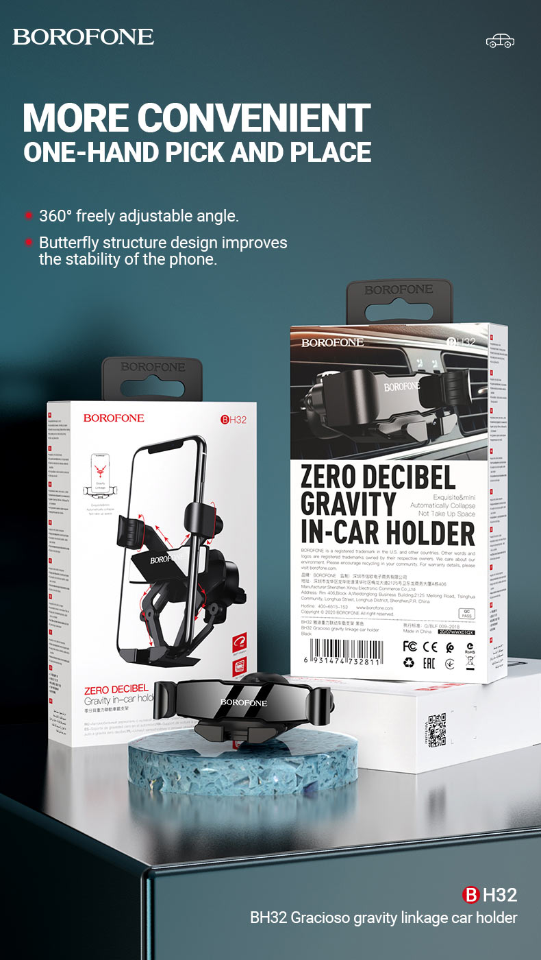 borofone news bh32 car holders collection en