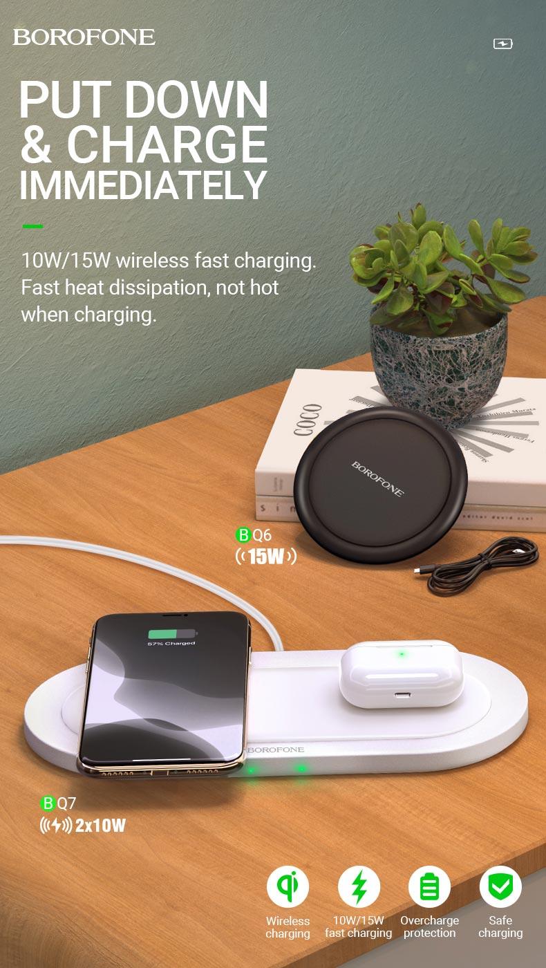 borofone news bq6 bq7 wireless fast charge collection en