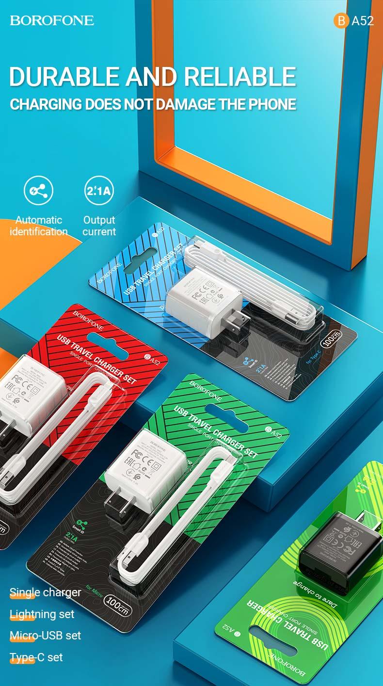 borofone news chargers collection ba52 en