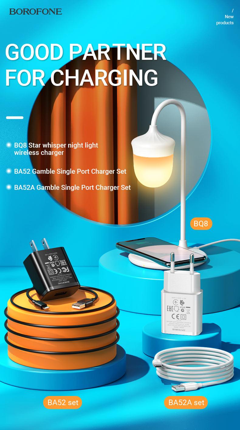 borofone news chargers collection ba52a ba52 bq8 en
