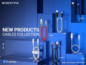 BOROFONE Hot Selling Cables Collection