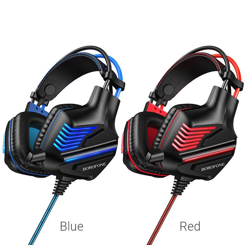 borofone bo101 racing gaming headphones colors