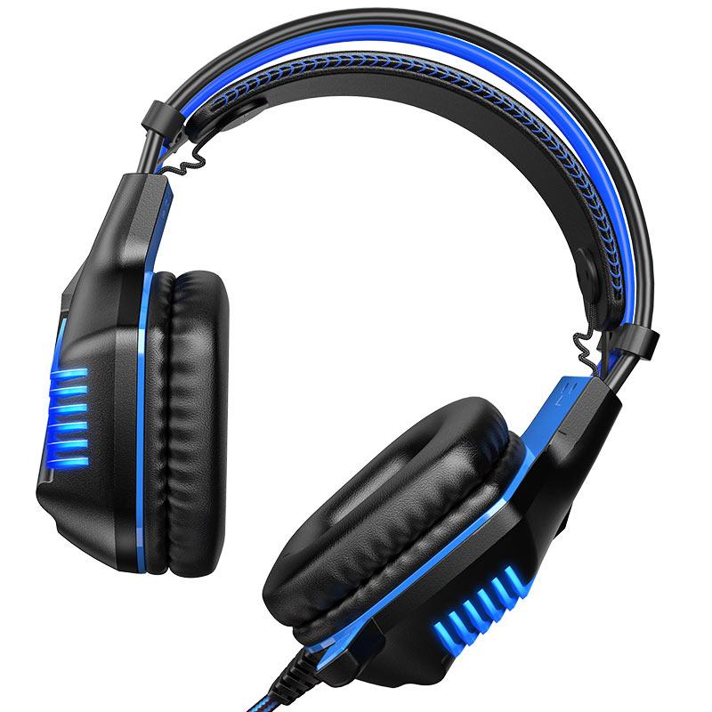 borofone bo101 racing gaming headphones front