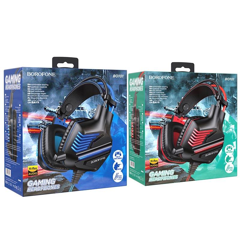 borofone bo101 racing gaming headphones packages