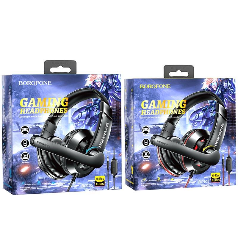 borofone bo102 amusement gaming headphones packages