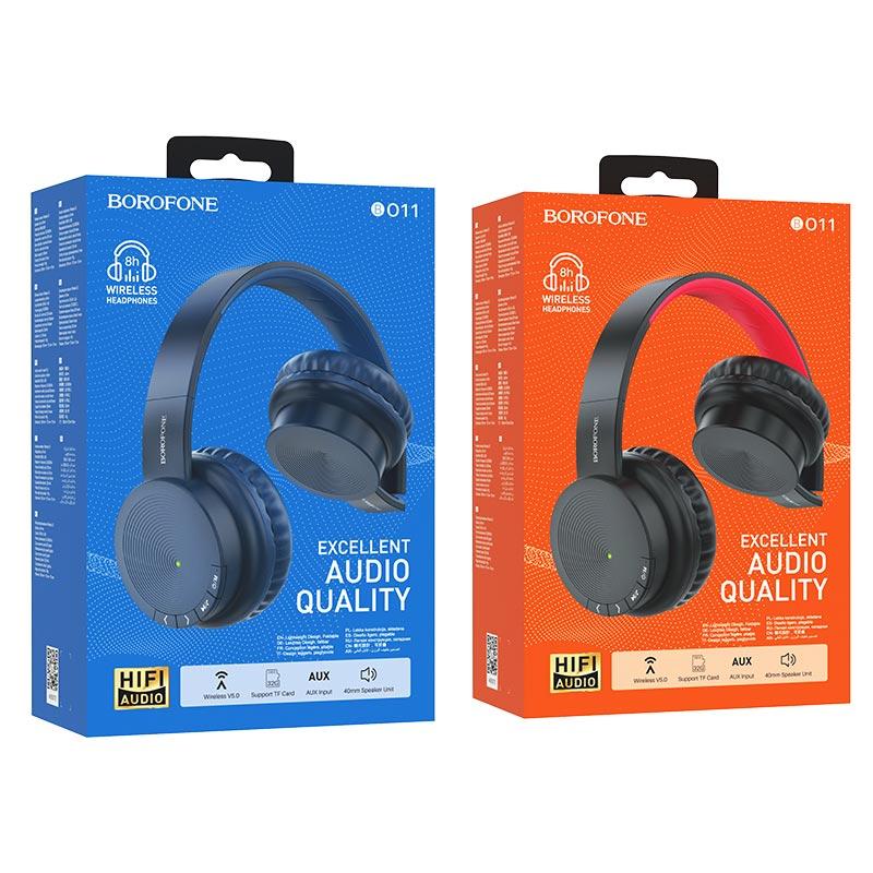 borofone bo11 maily bt headphones packages