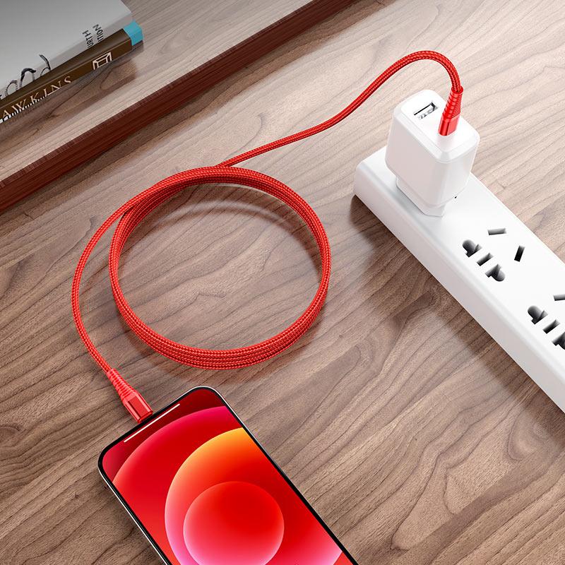 Кабель USB-C на Lightning BU27 Cool victory PD