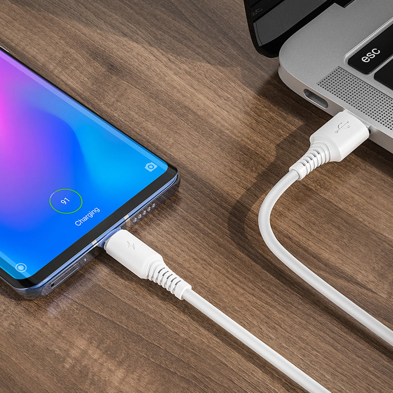Cable USB to USB-C BX47 Coolway