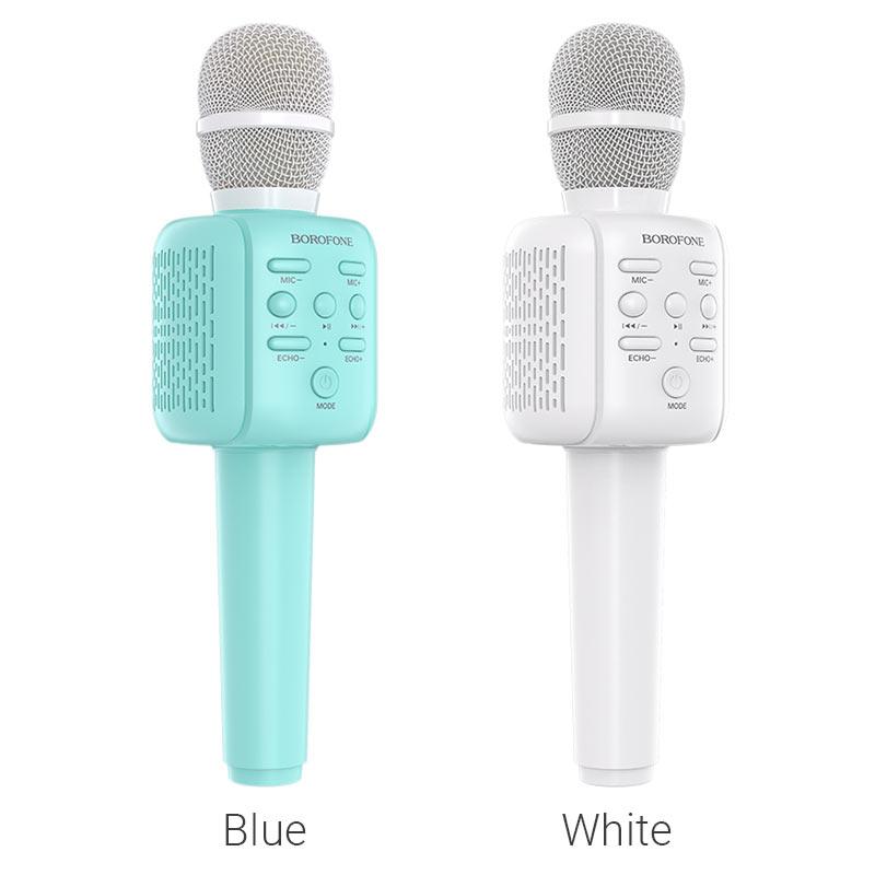 borofone bf1 rhyme karaoke microphone colors