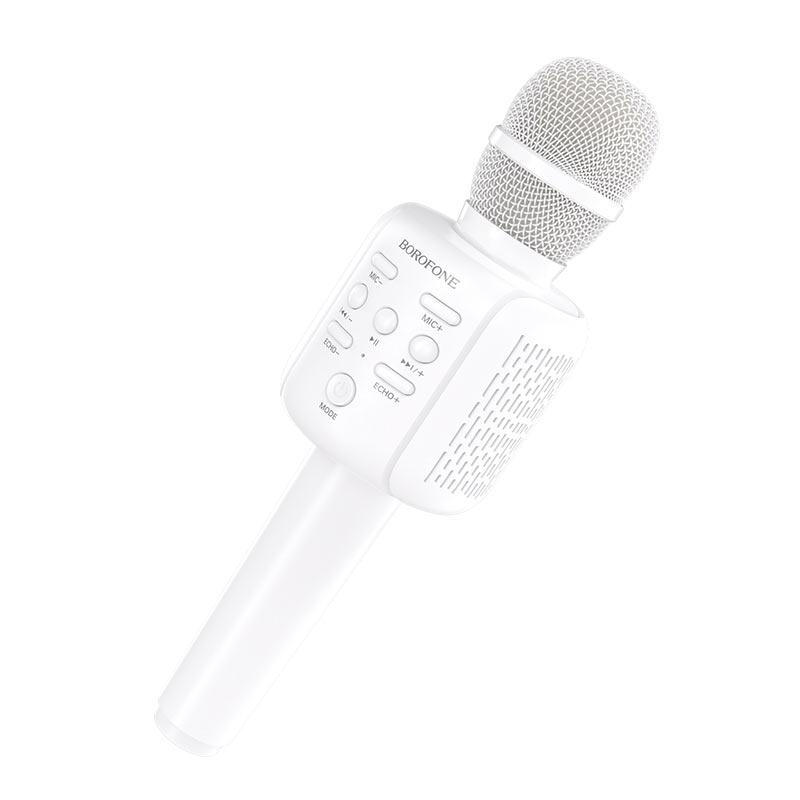 borofone bf1 rhyme karaoke microphone wireless