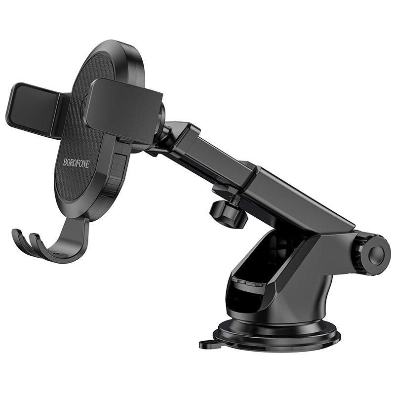 borofone bh39 amazing bay one touch center console car holder telescopic