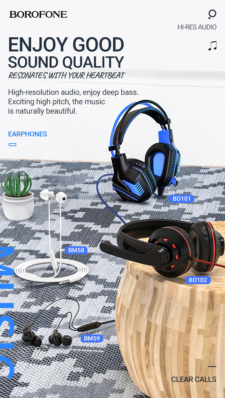 borofone news audio products collection december 2020 en