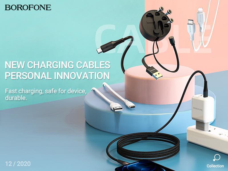 borofone news cables collection december 2020 banner en