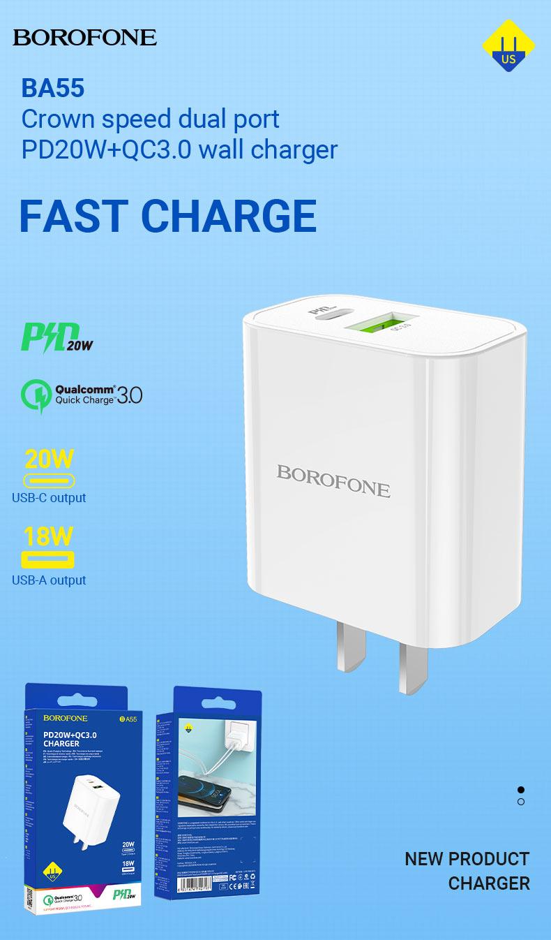 borofone news chargers collection december 2020 ba55 en