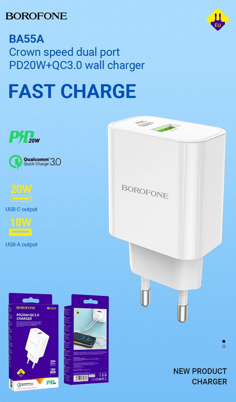 borofone news chargers collection december 2020 ba55a en