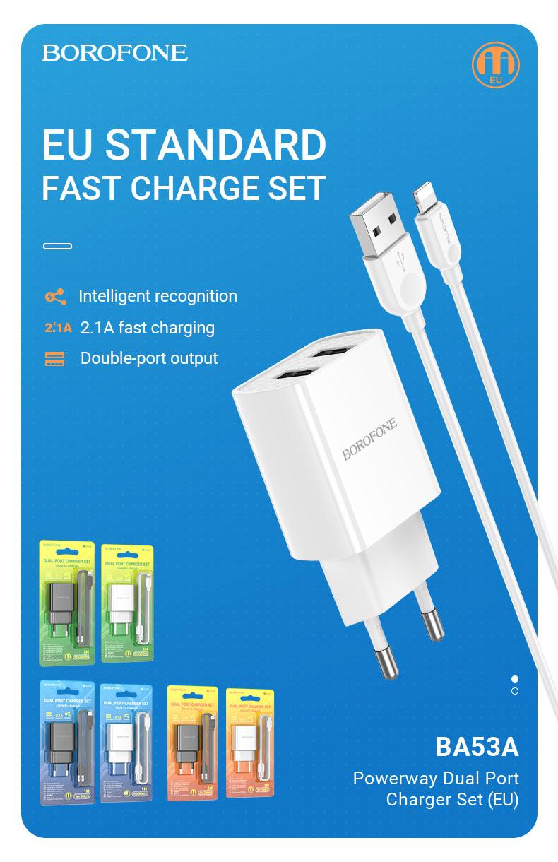 borofone news chargers collection november 2020 ba53a set en