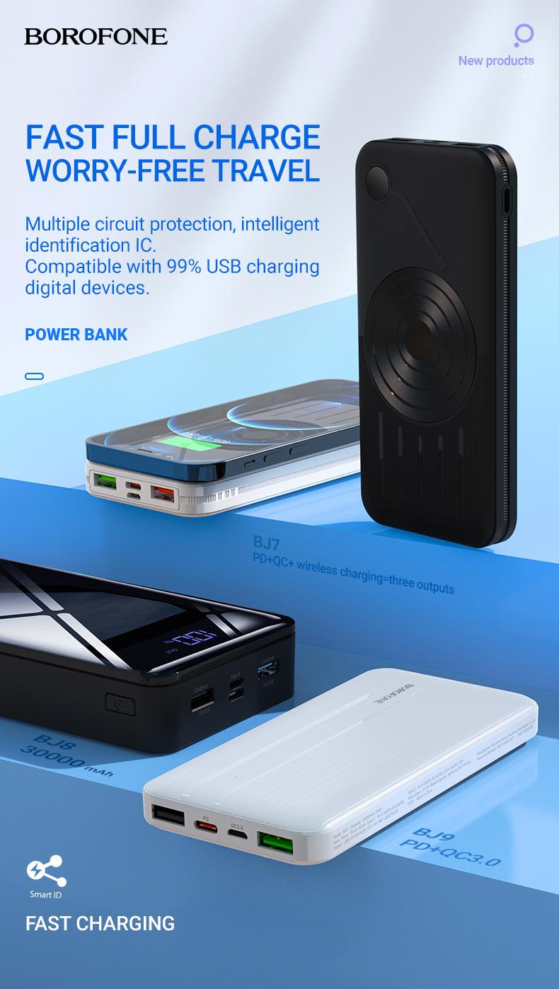 borofone news power banks collection december 2020 en